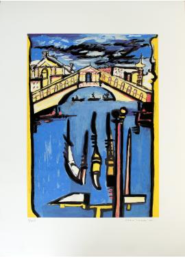 Remo Brindisi Venice cm. 70 x 50