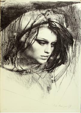 Pietro Annigoni-Eva 70x100
