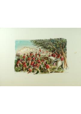 Domenico Purificato-Redcoats 50 x 70