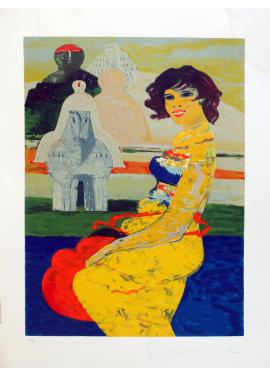 Salvatore Fiume Isola di Statue  70x50