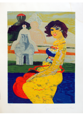 Salvatore Fiume Isola di Statue 60x70