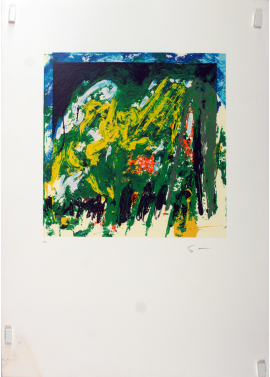 Mario Schifano-Untitled 70x50