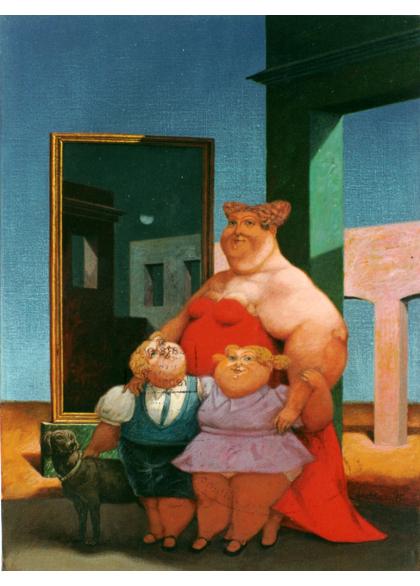 Josè Carlos Ledda - Lulù y los Mellizos - 30x40