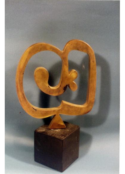 Arturo Carmassi - Archetipo scultura cm 24