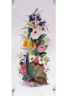Fanny de Scolari - Composizione Floreale - 50x25