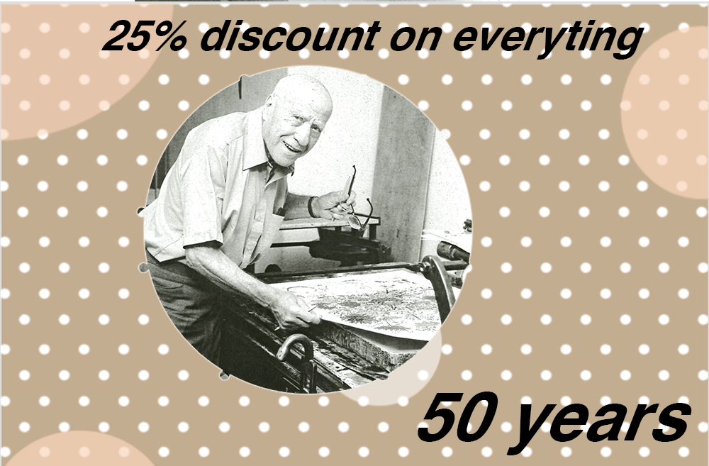 50 years 25% discount